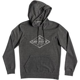 Quiksilver X Elite Fleece Capuchon Jas Heren, mgh screen hoodie stripes